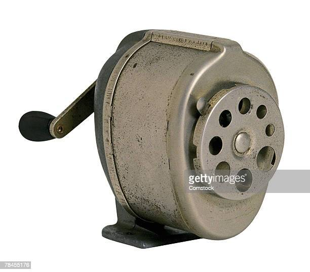 Old Fashioned Metal Pencil Sharpener