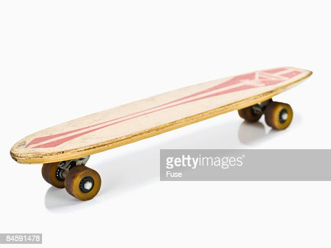 Old-Fashioned Skateboard : Stock Photo