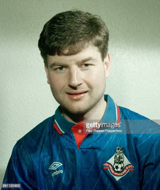Oldham Athletic footballer Denis Irwin circa April 1990