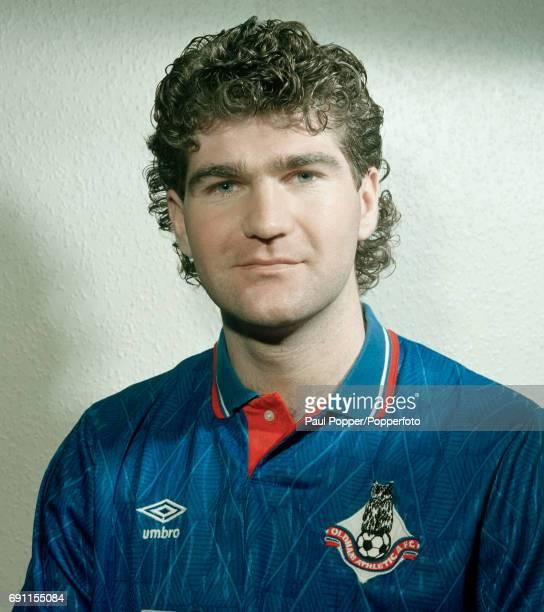 Oldham Athletic footballer Ian Marshall circa April 1990