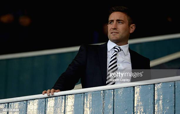 Oldham manager Lee Johnson during the Capital One Cup First Round match between Oldham Athletic and Middlesbrough at Boundary Park on August 12 2014...