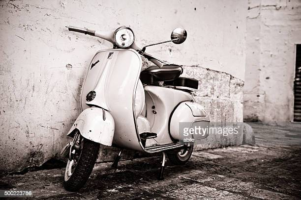 Old-style vespa Scooter