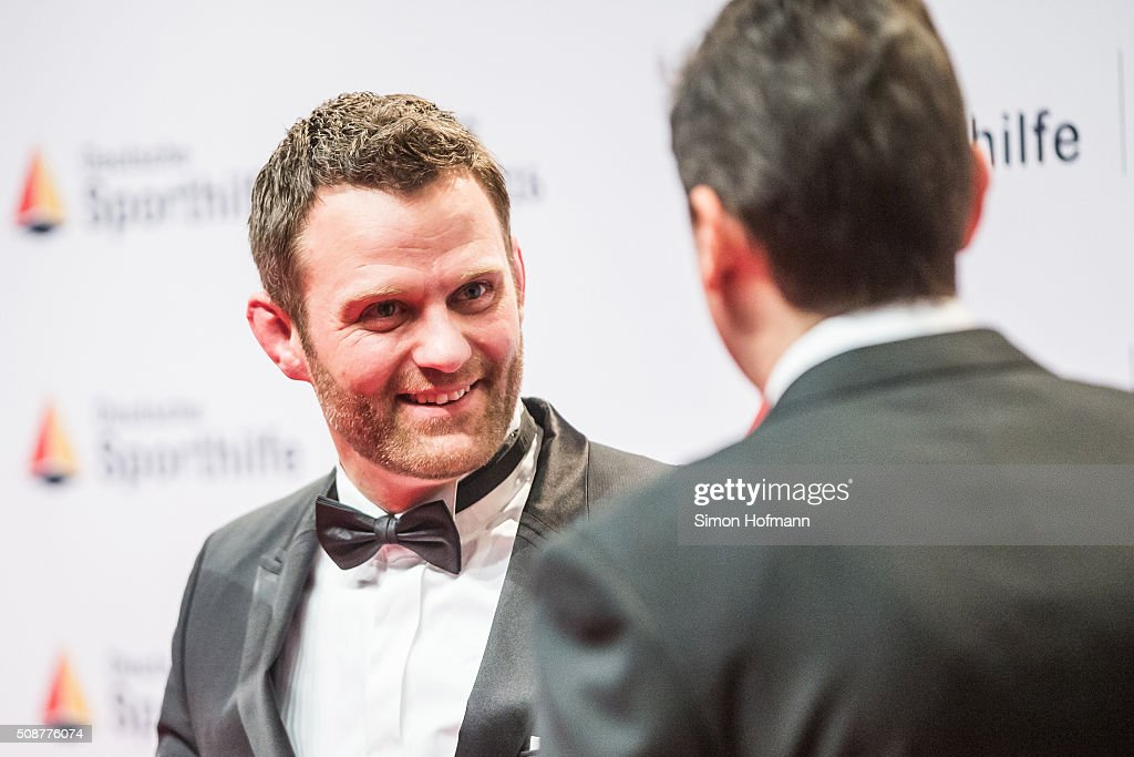 Ole Bischof attends German Sports Gala 'Ball des Sports 2016' on February 6, 2016 in Wiesbaden, Germany.