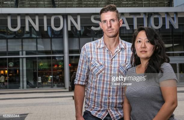 TORONTO ON AUGUST 20 Ole Harder and Joyce Nakanishi two Air Canada flight attendants who live downtown are upset about the high cost of the...