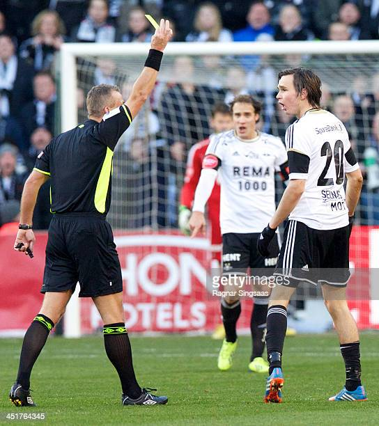 Ole Kristian Selnaes of Rosenborg BK reacts during the Norwegian Cup Final match between Molde FK and Rosenborg BK at Ullevaal Stadion on November 24...