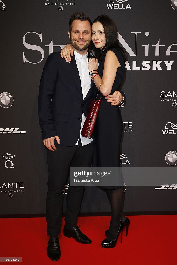 Ole Tillmann and Anita Tillmann attend the 'Michalsky Style Nite Arrivals - Mercesdes-Benz Fashion Week Autumn/Winter 2013/14' at Tempodrom on January 18, 2013 in Berlin, Germany.