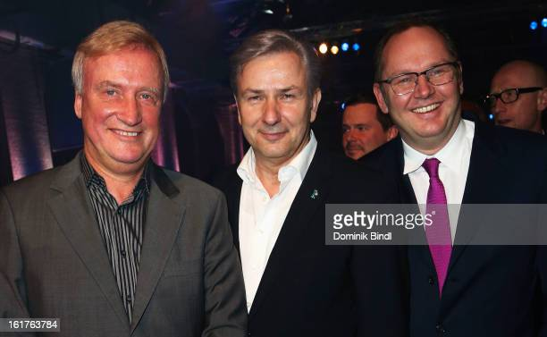 Ole von Beust Berlins mayor Klaus Wowereit and guest attend the Teddy Award during the 63rd Berlinale International Film Festival at Station Berlin...