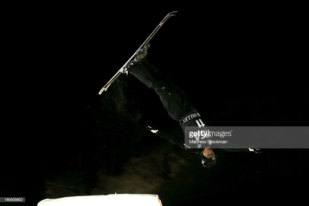 Oleksandr Abramenko #11 of Ukraine competes in the Mens Aerials during the Visa Freestyle International at Deer Valley on February 1, 2013 in Park City, Utah.