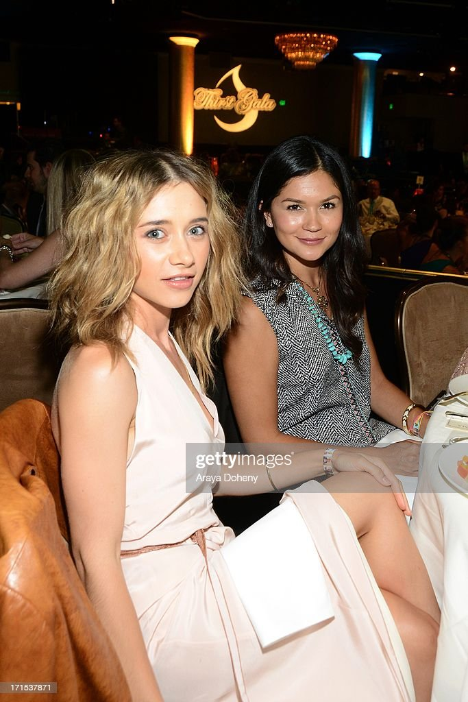 Olesya Rulin and Marianna Wall at The Thirst Project 4th annual gala and performance at The Beverly Hilton Hotel on June 25, 2013 in Beverly Hills, California.