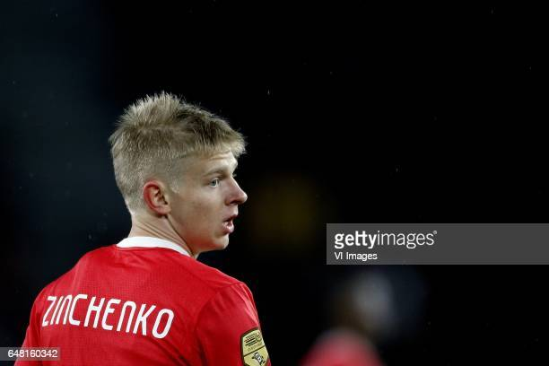 Olexandr Zinchenko of PSVduring the Dutch Eredivisie match between PSV Eindhoven and Roda JC Kerkrade at the Phillips stadium on March 04 2017 in...