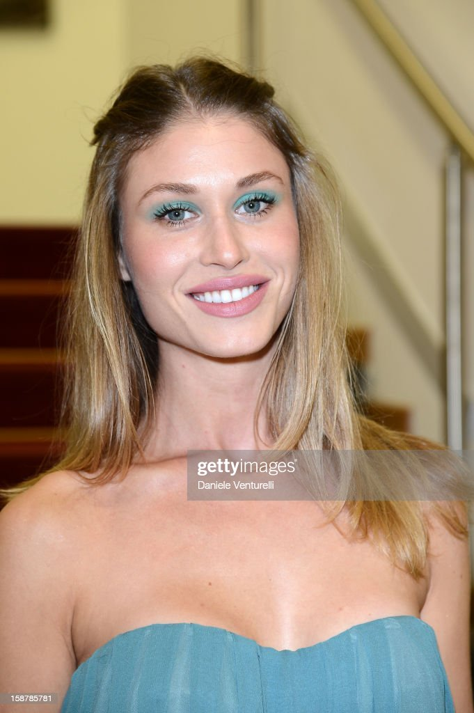 Olga Kent attends Day 3 of the 2012 Capri Hollywood Film Festival on December 28, 2012 in Capri, Italy.