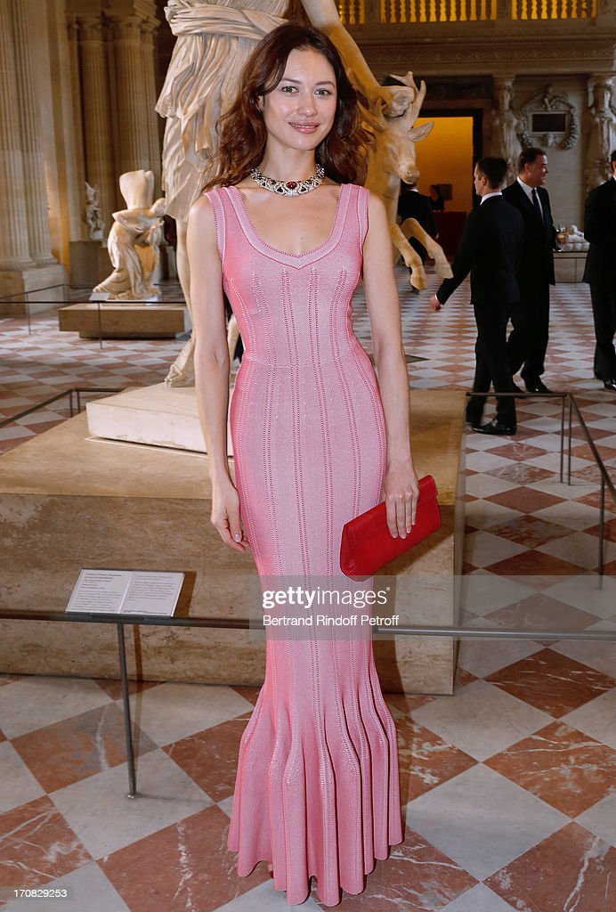 Olga Kurilenko attends 'Liaisons Au Louvre III' Charity Gala Dinner Hosted by American International Friends of Le Louvre at Cour Carree du Louvre on June 18, 2013 in Paris, France.