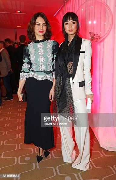 Olga Kurylenko and Betty Bachz attend a performance of Prokofiev's Romeo Juliet in aid of Gift Of Life at the Royal Festival Hall on January 14 2017...