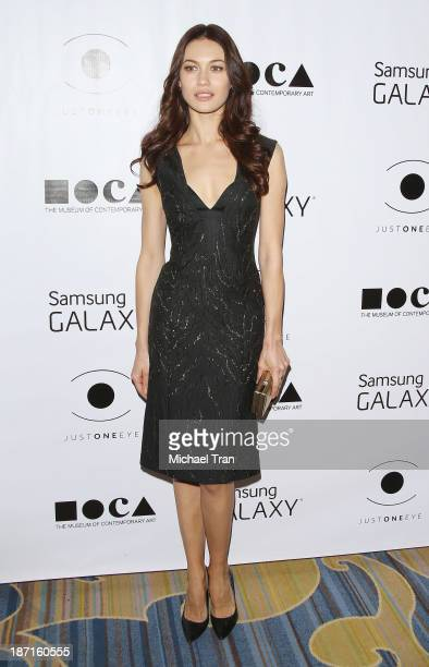 Olga Kurylenko arrives at the 8th Annual MOCA Awards to distinguished women in the arts luncheon held at the Beverly Wilshire Four Seasons Hotel on...