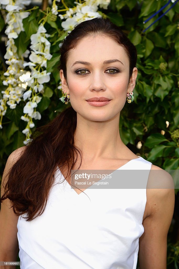 <a gi-track='captionPersonalityLinkClicked' href=/galleries/search?phrase=Olga+Kurylenko&family=editorial&specificpeople=630281 ng-click='$event.stopPropagation()'>Olga Kurylenko</a> arrives at the Christian Dior show as part of the Paris Fashion Week Womenswear Spring/Summer 2014 at Musee Rodin on September 27, 2013 in Paris, France.