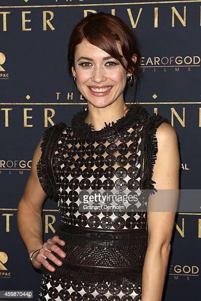 Olga Kurylenko arrives at the Melbourne Premier of 'The Water Diviner' at Rivoli Cinema on December 3 2014 in Melbourne Australia