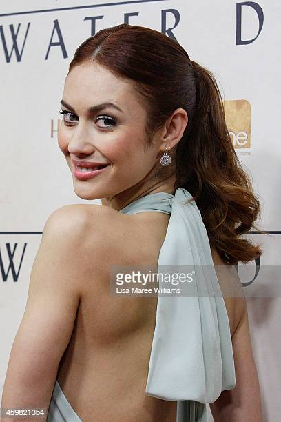 Olga Kurylenko arrives at the World Premier of 'The Water Diviner' at the State Theatre on December 2 2014 in Sydney Australia