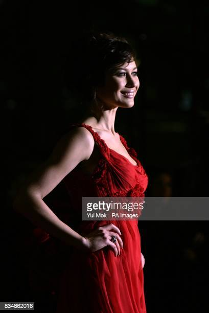 Olga Kurylenko arrives for the World premiere of 'Quantum Of Solace' at the Odeon Leicester Square WC2