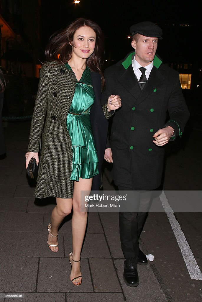 Olga Kurylenko attending a party Annabel's club to mark the opening of Balmain's first London store on March 16 2015 in London England