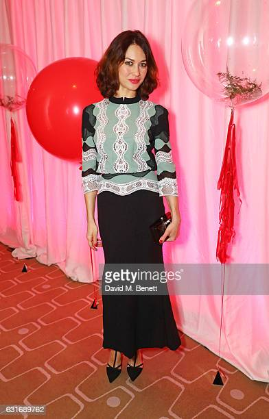 Olga Kurylenko attends a performance of Prokofiev's Romeo Juliet in aid of Gift Of Life at the Royal Festival Hall on January 14 2017 in London...