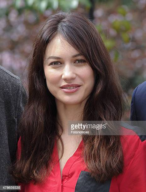 Olga Kurylenko attends a photocall to announce the start of the shooting of 'A Perfect Day' at Casa de America on March 14 2014 in Madrid Spain