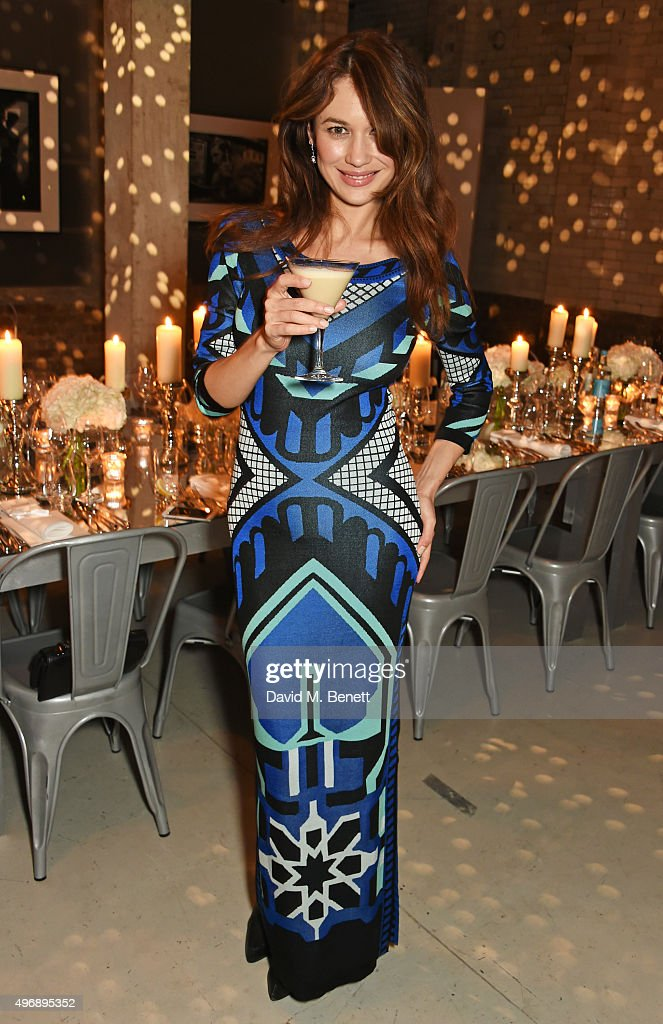 <a gi-track='captionPersonalityLinkClicked' href=/galleries/search?phrase=Olga+Kurylenko&family=editorial&specificpeople=630281 ng-click='$event.stopPropagation()'>Olga Kurylenko</a> attends an intimate dinner party hosted by Alice Temperley to celebrate 15 years of Temperley at GWP Studio on November 12, 2015 in London, England. Guests drank Baileys Flat White martinis to toast the occasion and mark the significant milestone for the brand.