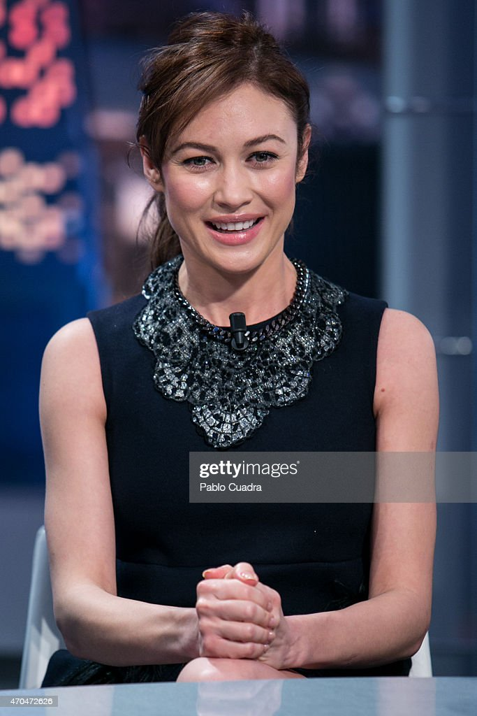<a gi-track='captionPersonalityLinkClicked' href=/galleries/search?phrase=Olga+Kurylenko&family=editorial&specificpeople=630281 ng-click='$event.stopPropagation()'>Olga Kurylenko</a> attends 'El Hormiguero' Tv show at Vertice Studio on April 20, 2015 in Madrid, Spain.