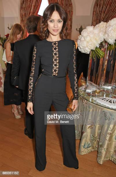 Olga Kurylenko attends The 9th Annual Filmmakers Dinner hosted by Charles Finch and JaegerLeCoultre at Hotel du CapEdenRoc on May 19 2017 in Cap...