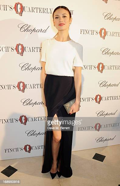 Olga Kurylenko attends the annual Finch's Quarterly Review Filmmakers Dinner hosted by Charles Finch Caroline Scheufele and Nick Foulkes at Hotel Du...