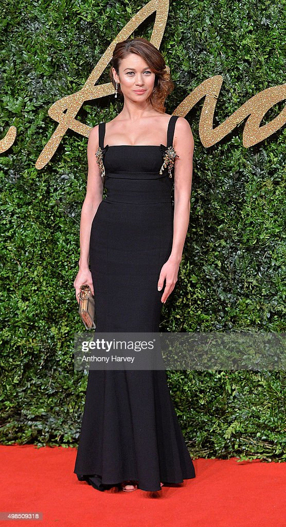 <a gi-track='captionPersonalityLinkClicked' href=/galleries/search?phrase=Olga+Kurylenko&family=editorial&specificpeople=630281 ng-click='$event.stopPropagation()'>Olga Kurylenko</a> attends the British Fashion Awards 2015 at London Coliseum on November 23, 2015 in London, England.