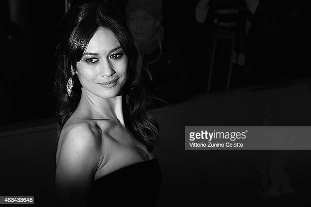 Olga Kurylenko attends the Closing Ceremony of the 65th Berlinale International Film Festival at Berlinale Palace on February 14 2015 in Berlin...