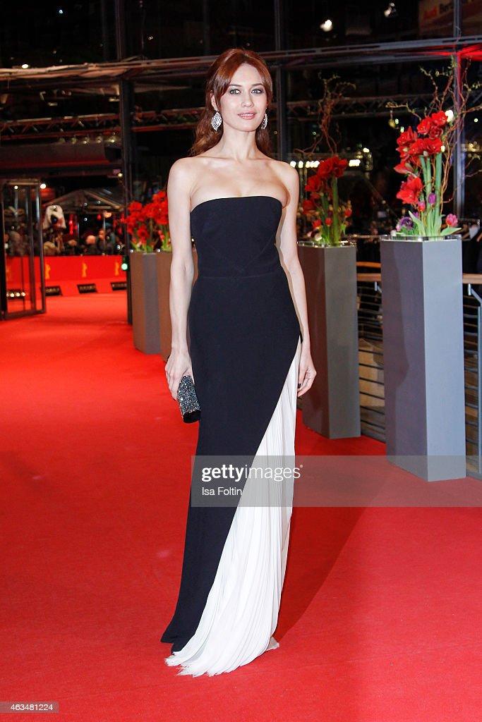 Olga Kurylenko attends the Closing Ceremony of the 65th Berlinale International Film Festival on February 14, 2015 in Berlin, Germany.
