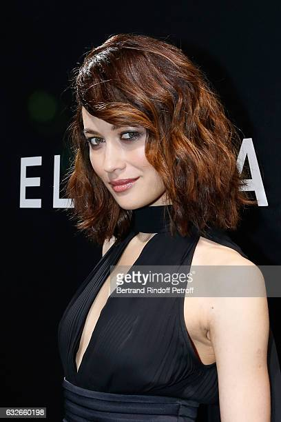 Olga Kurylenko attends the Elie Saab Haute Couture Spring Summer 2017 show as part of Paris Fashion Week on January 25 2017 in Paris France