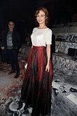 Olga Kurylenko attends the HM show as part of the Paris Fashion Week Womenswear Fall/Winter 2015/2016 on March 4 2015 in Paris France