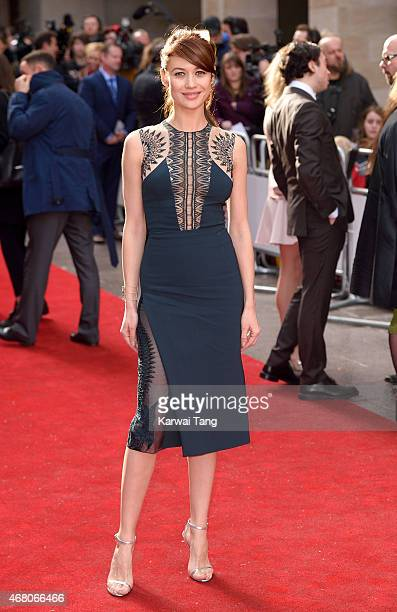 Olga Kurylenko attends the Jameson Empire Awards 2015 at Grosvenor House on March 29 2015 in London England