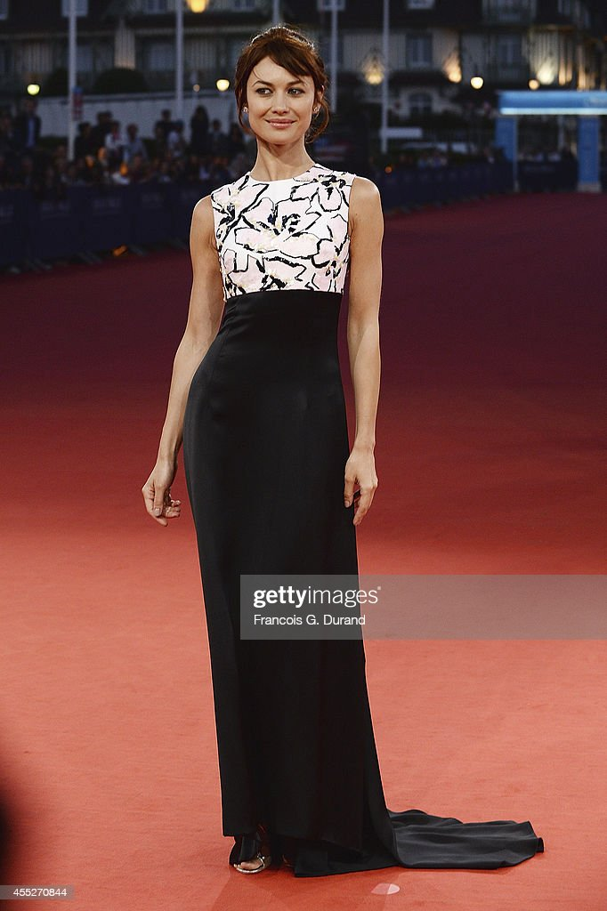 Olga Kurylenko attends 'The November man' premiere during the 40th Deauville American Film Festival on September 11 2014 in Deauville France