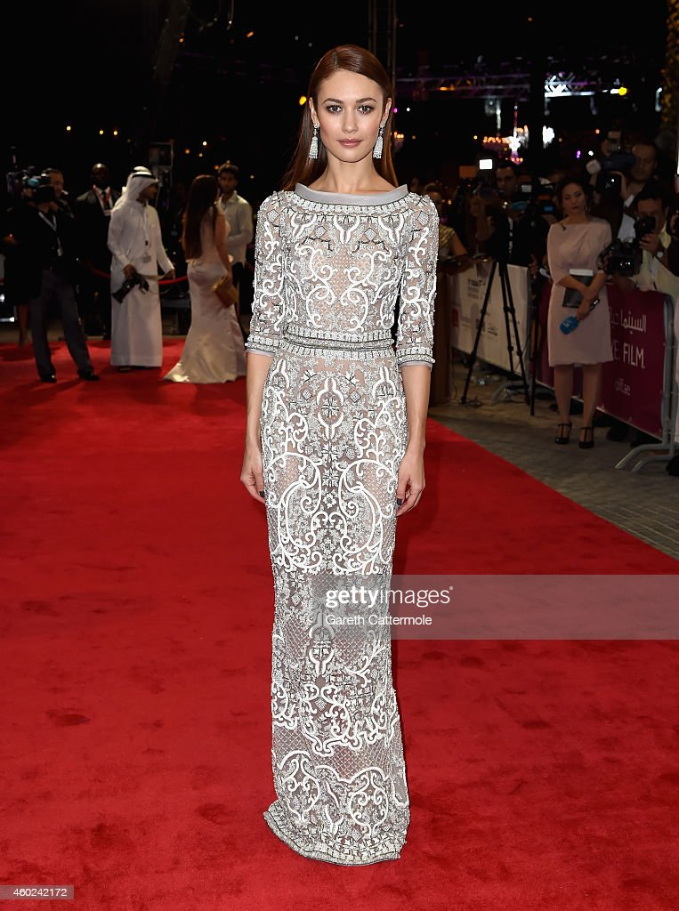 Olga Kurylenko attends the Opening Night Gala during day one of the 11th Annual Dubai International Film Festival held at the Madinat Jumeriah Complex on December 10, 2014 in Dubai, United Arab Emirates.