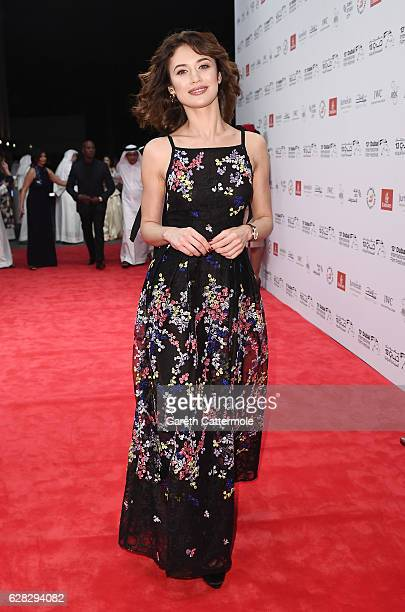 Olga Kurylenko attends the Opening Night Gala during day one of the 13th annual Dubai International Film Festival held at the Madinat Jumeriah...