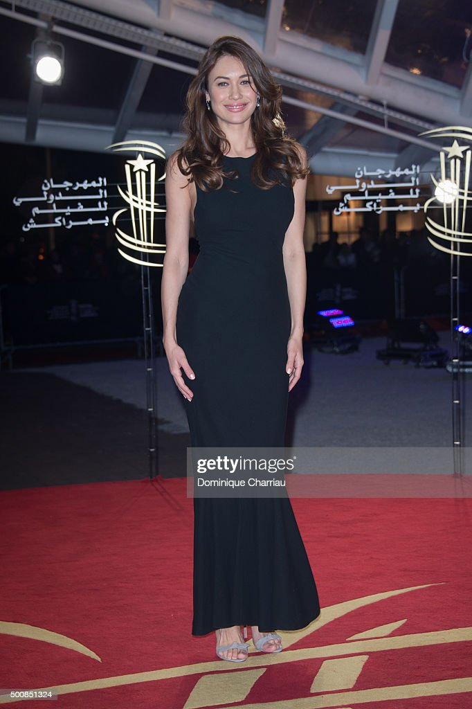 Olga Kurylenko attends the ' The White Knights' premiere during the 5th Marrakech International Film Festival on December 10 2015 in Marrakech Morocco