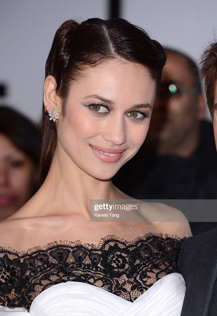 Olga Kurylenko attends the UK premiere of 'Oblivion' at BFI IMAX on April 4, 2013 in London, England.