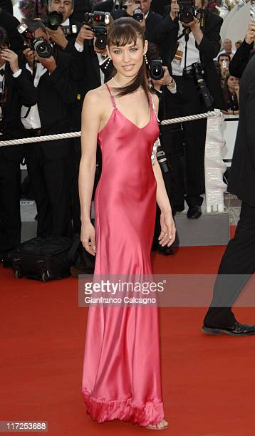 Olga Kurylenko during 2006 Cannes Film Festival Paris Je t'aime Premiere at Grand Theatre Lumiere in Cannes France