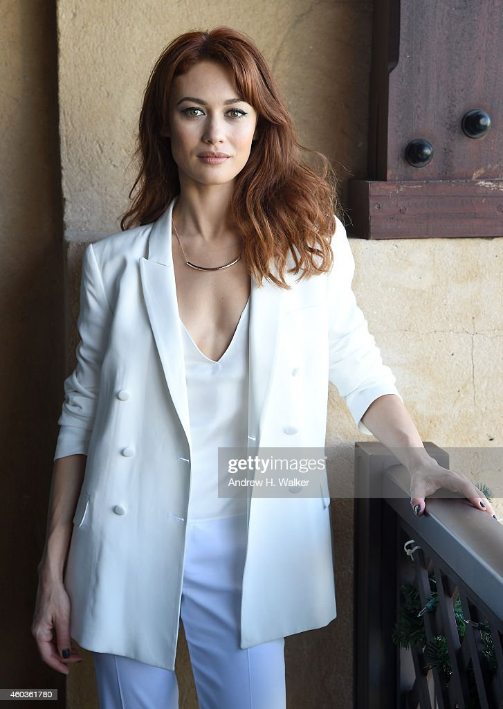 Olga Kurylenko poses during a portrait session on day three of the ...