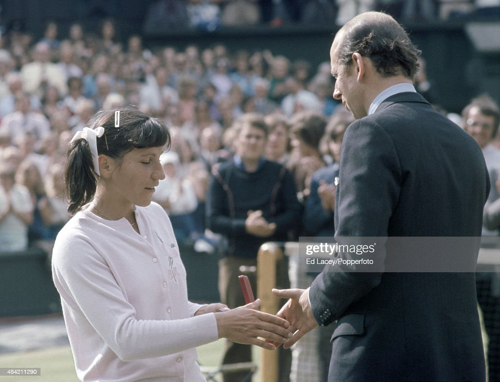 Olga Morozova And The Duke Kent Wimbledon