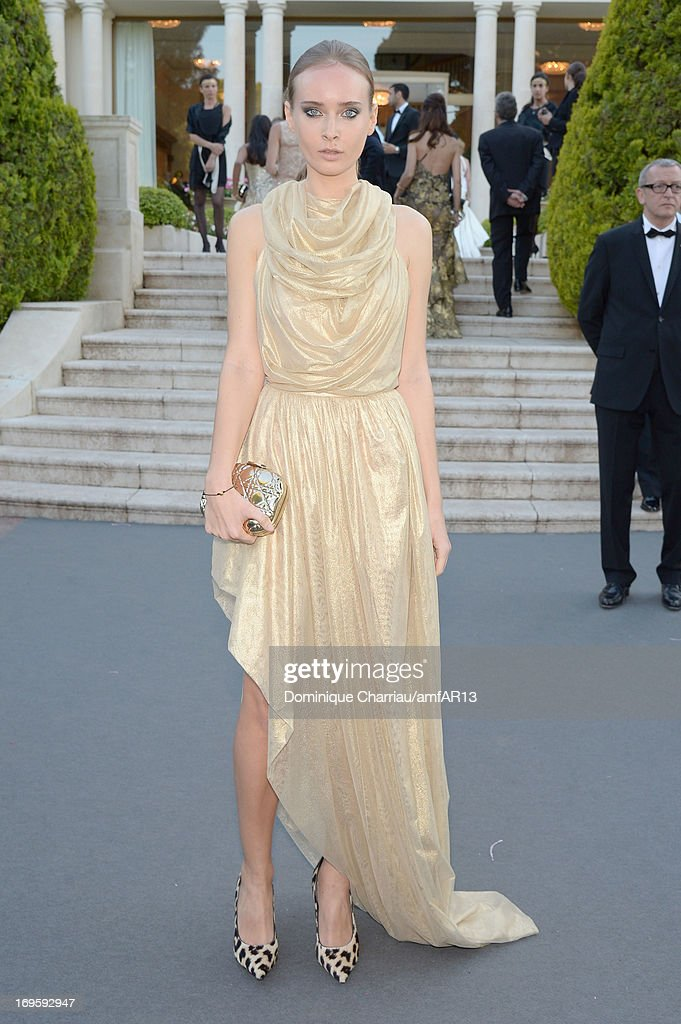 Olga Sorokina attends amfAR's 20th Annual Cinema Against AIDS during The 66th Annual Cannes Film Festival at Hotel du Cap-Eden-Roc on May 23, 2013 in Cap d'Antibes, France.