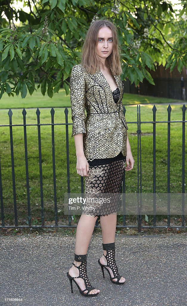 Olga Sorokina attends the annual Serpentine Gallery summer party at The Serpentine Gallery on June 26, 2013 in London, England.