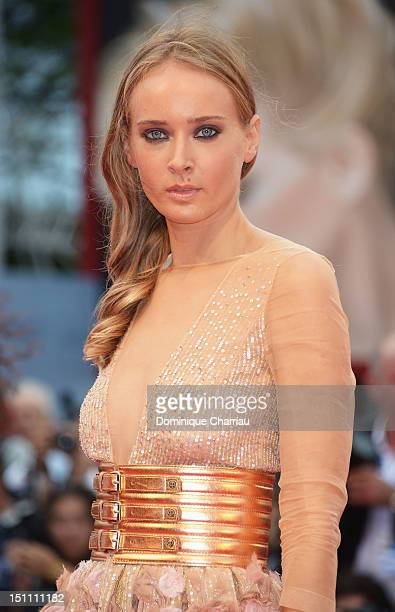Olga Sorokina attends 'The Master' Premiere during the 69th Venice Film Festival at the Palazzo del Cinema on September 1 2012 in Venice Italy