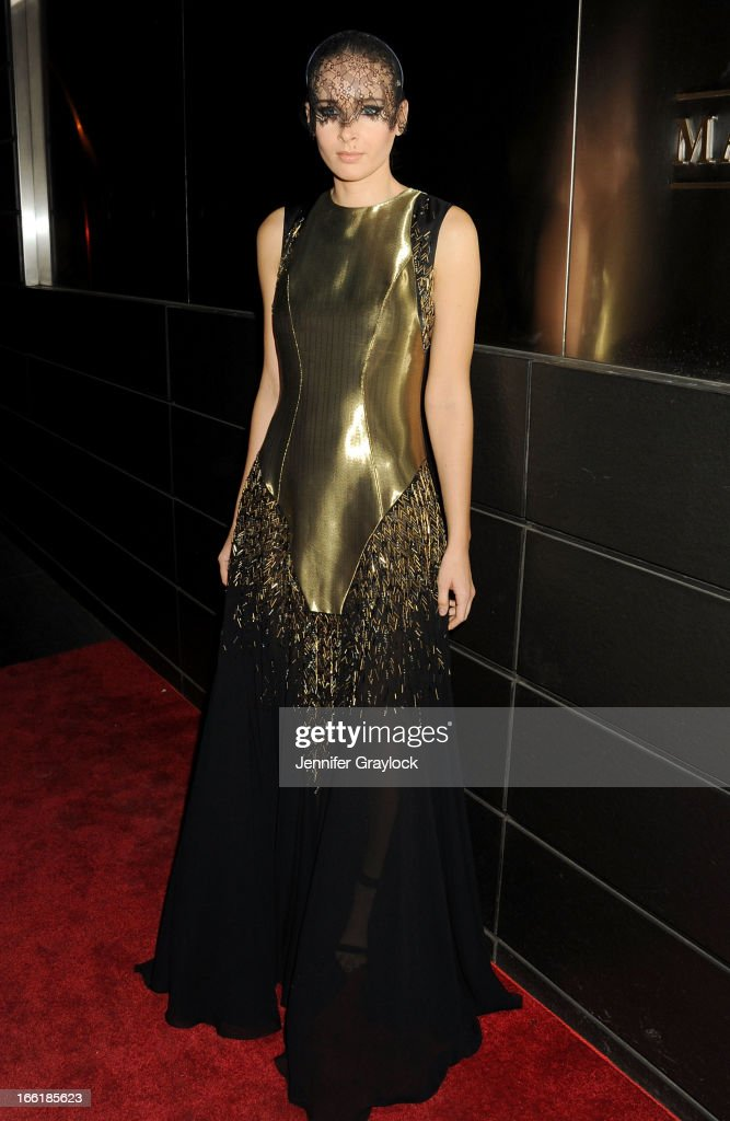 Olga Sorokina attends the New Yorkers for Children 10th Anniversary Spring Dinner Dance New Year's in April: A Fool's Fete to benefit youth in foster care presented by Valentino at Mandarin Oriental Hotel on April 9, 2013 in New York City.