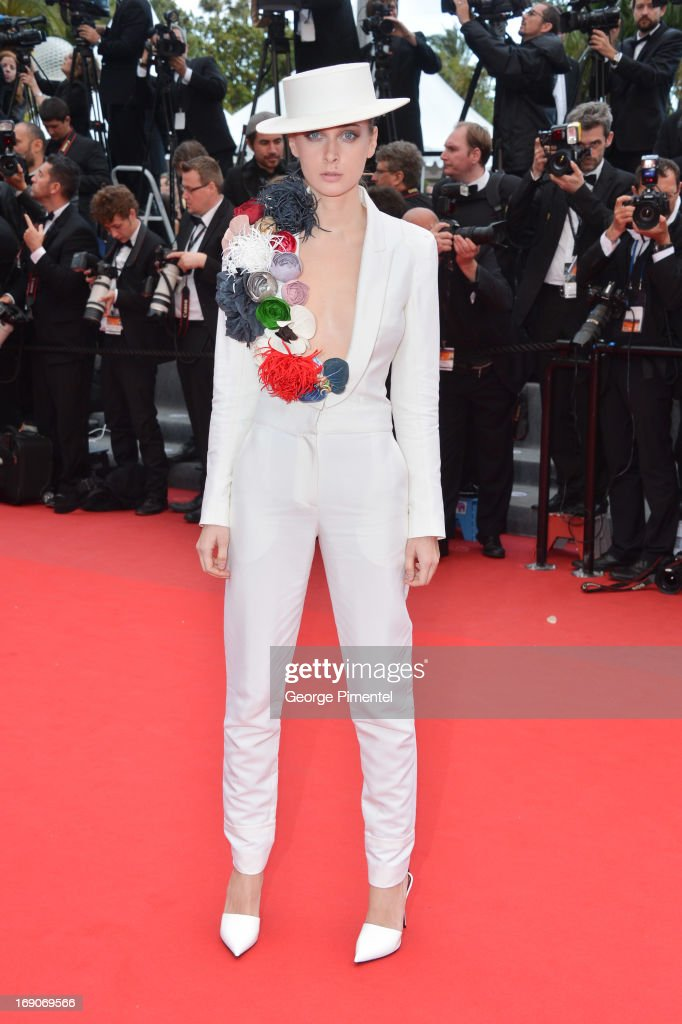 Olga Sorokina attends the Premiere of 'Inside Llewyn Davis' at The 66th Annual Cannes Film Festival on May 19, 2013 in Cannes, France.