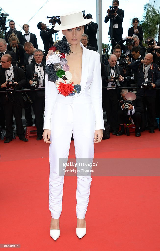 Olga Sorokina attends the Premiere of 'Inside Llewyn Davis' during the 66th Annual Cannes Film Festival at Palais des Festivals on May 19, 2013 in Cannes, France.