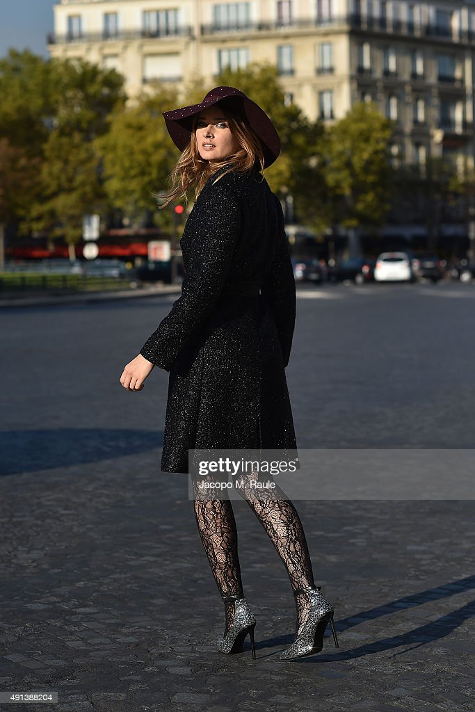 Olga Sorokina Sighting in Paris - October 3rd, 2015